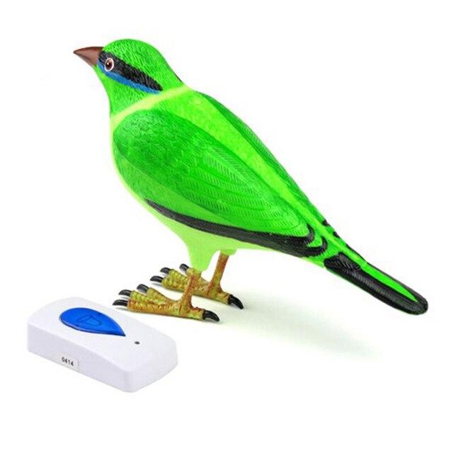 Draadloos Deurbel Vogel.Us 9 95 20 Off Draadloze Digitale Deurbel Clear Simulatie Vogel Geluid Afstandsbediening Voor Thuis Deur Lcc77 In Draadloze Digitale Deurbel Clear