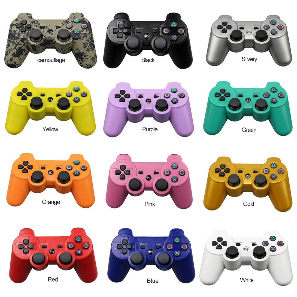 цена Onetomax Bluetooth Wireless Gamepad Controller For Sony Playstation PS3 Wireless Gamepad Joystick Controllers