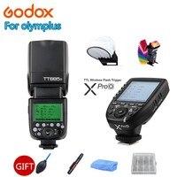 Godox TT685 TT685C TT685N TT685S TT685F TT685O Вспышка ttl HSS камера Вспышка speedlite + XPRO для Canon Nikon sony фужи Олимпус