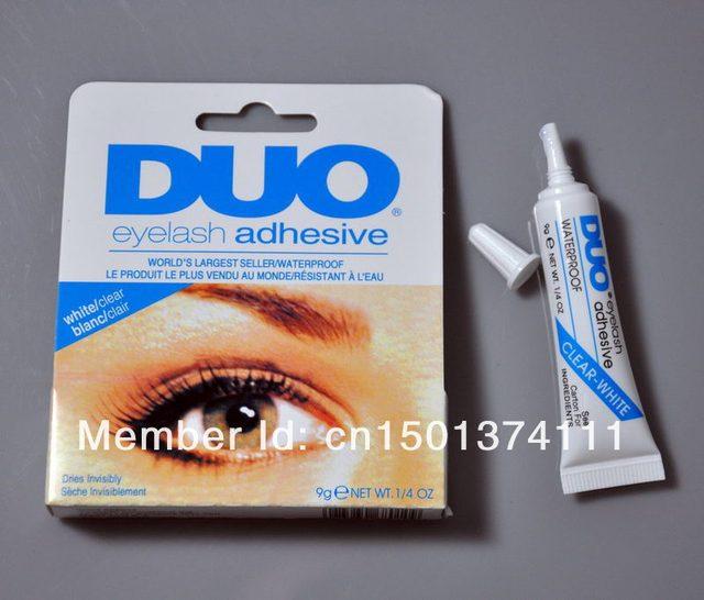 Duo água pestana prova adesivo cola para cílios claro 9 g