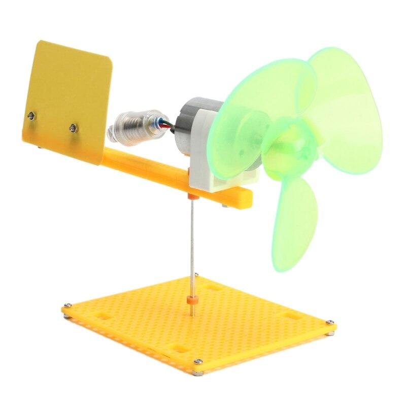 Handmade Toy Car Holder : Hot sale science toy diy handmade kit dc micro wind motor