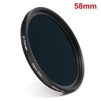 58mm ND1000 UltraThin Neutral Density ND 58mm Filter 10 Stop for canon nikon sony camera