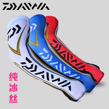 2018 DAIWA Fishing Gloves Men Summer Outdoor Anti-mosquito Arm Sleeve Long Anti UV Car Driving Mittens Fingerless Gloves