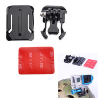 Activity Base Curved Surface Tape Adhesive Mount For Gopro HD Hero 2 3 Black Color #LD456