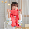 New Fashion 2016 Women Scarf Vintage Ladies Solid Color Black Red White Scarves Warp shawl free shipping