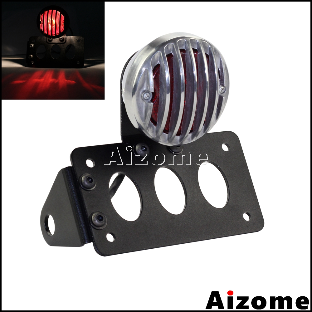 Motorcycle Side Mount Tail Light w/ License Number Plate Bracket Stop Light For Harley Sportsters Bobber Rear Brake LightMotorcycle Side Mount Tail Light w/ License Number Plate Bracket Stop Light For Harley Sportsters Bobber Rear Brake Light