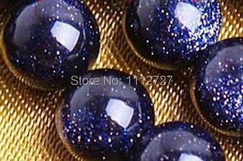 "8mm Galaxy Staras Blue Sand Sun Sitara Loose Beads 15/"""