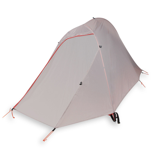 Ultralight Double Tent Outdoor Camping Hiking Backpacking Windpoof Rainproof Siliconized Nylon Camping Tent 1-2 Persons