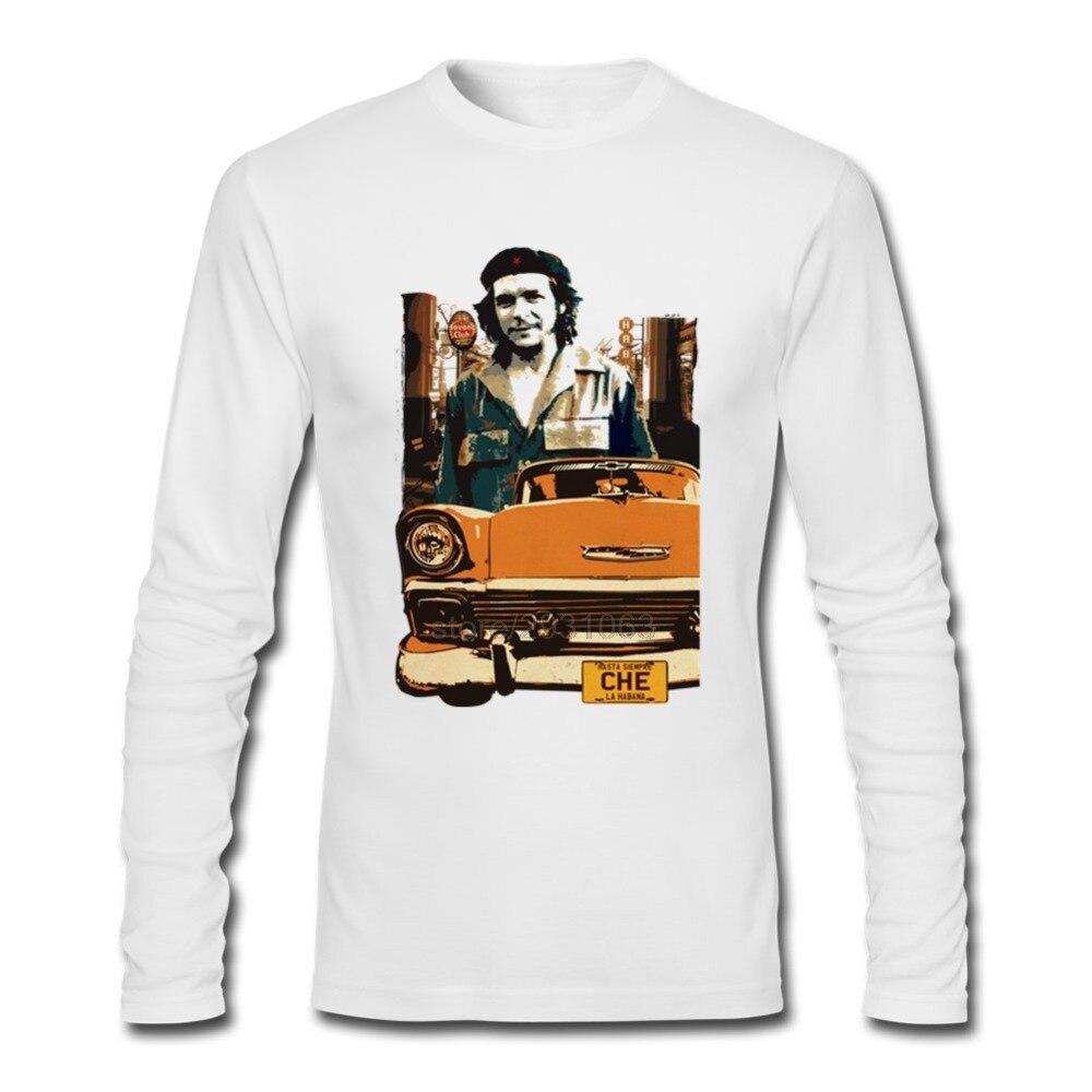 Gt86 design t shirts men s t shirt - Customized Men T Shirt Retro Cuba Design With Che Guevara A Car Designer O Neck New T Shirts Men Cotton Tees Shirt