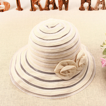 Spring and summer new sun hat womens beach sea protection basin outdoor fishing travel cap 2019 bow-knot