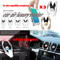 3pcs Car Phone Air Vent Holder Mount Stand GPS Cradle Cars Necessories Covers for xiaomi Pop socket Universal Bracket Grip Hook