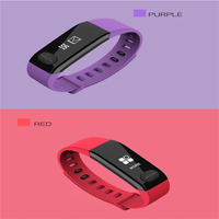 FGHGF E29 PPG ECG Smart Chip Bluetooth Wireless Sports Smart Bracelet Waterproof Motion Tracking Heart Rate