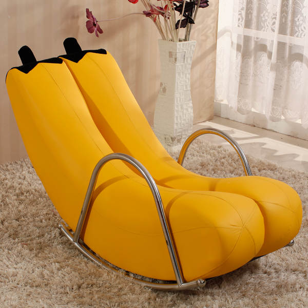 Awesome Us 55 0 Louis Fashion Creative Single Lazy Sofa Single Banana Lounge Chair Rocking Personality Lovely Modern European In Chaise Lounge From Beatyapartments Chair Design Images Beatyapartmentscom