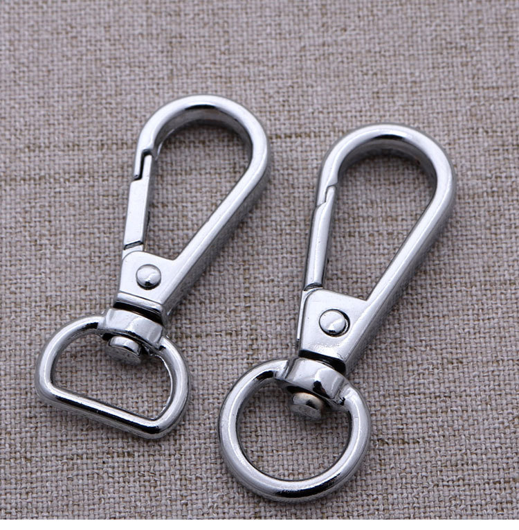 Lobster Clasps Clips Claw purse hooks Swivel snap hooks Anti bronze 50 mm K115