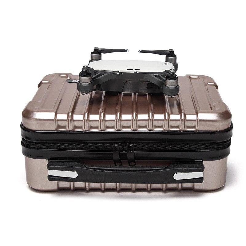 DJI Funken Drone Fall Hardshell Tragbare Tasche Koffer Trage Box Lagerung Körper Fernbedienung Batterie