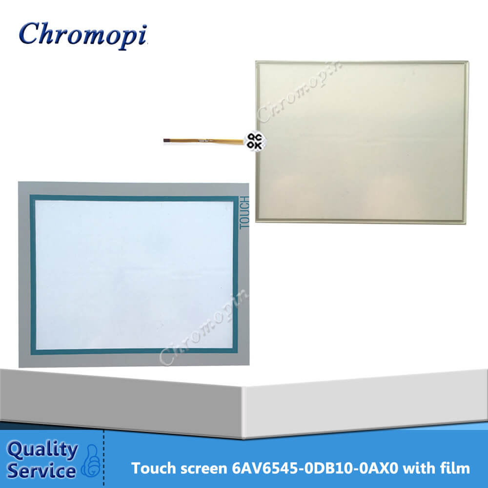 Touch screen for 6AV6545-0DB10-0AX0 6AV6 545-0DB10-0AX0 MP370 15 TOUCH with Protective film 6av6645 0cc01 0ax0 6av6 645 0cc01 0ax0 touch glass 90 days warranty free shipping