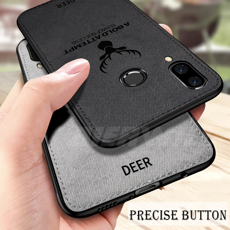 Bumper Case For Huawei P30 Pro Case Cover P20 Lite Back Cover Silicone Fabric Protective Case Coque For Huawei P20 Lite Case
