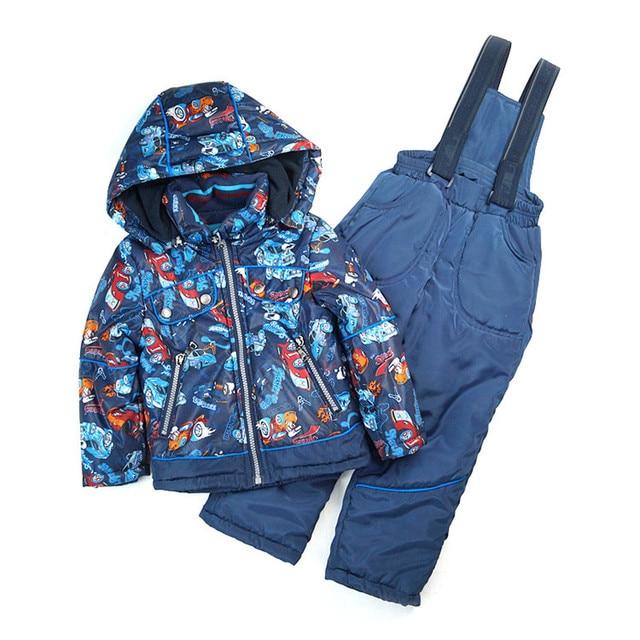 Весна Осень Детская Одежда Устанавливает Ветрозащитный Открытый Мальчиков Спортивные Куртки + Нагрудник Брюки 2 шт. Набор 1-5лет