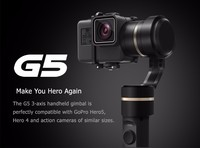 FeiyuTech Official Store Fy G5 3 Axis Handheld Gimbal For Gopro Hero 5 And Other Action