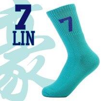 2016 Новое Специальное Предложение Высокое Качество Хлопка Бренда Носки Высокого баскетбол Elite № 7 Мягкий Дышащий Носок Для Мужчин женщины(China (Mainland))