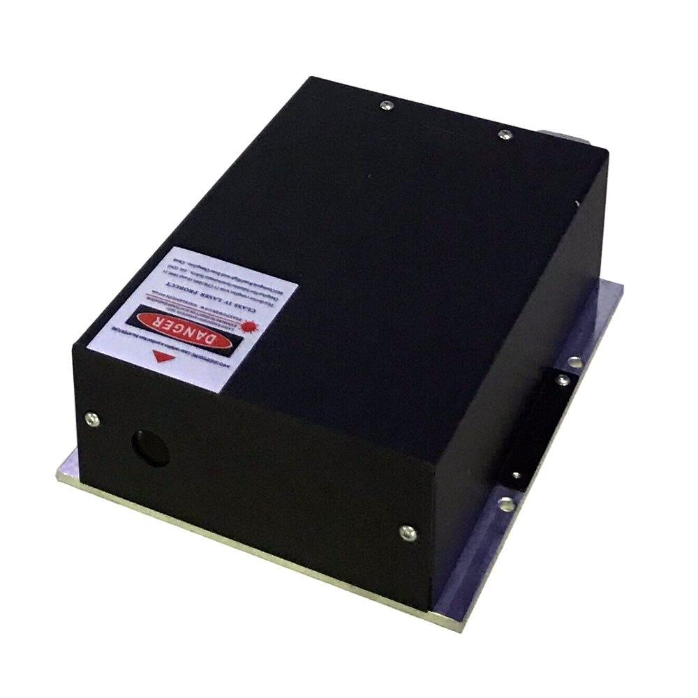 2 pçs/lote 4 W RGB Módulo de Laser OEM da Qualidade Superior DO CW Diodo Laser De Alta Potência Diodos TTL Analógico Para O Estágio show de luz Laser Partido Luz