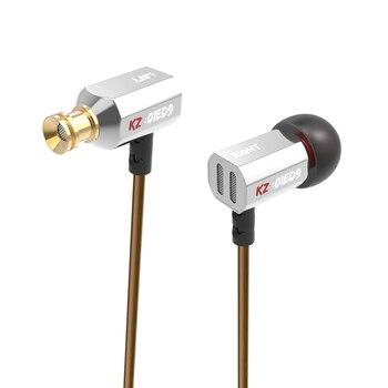 Auriculares de oído de 3,5mm graves pesados HIFI DJ estéreo auricular de aislamiento de ruido KZ auriculares para KZ AS10 ZS10 ZSN PRO C10