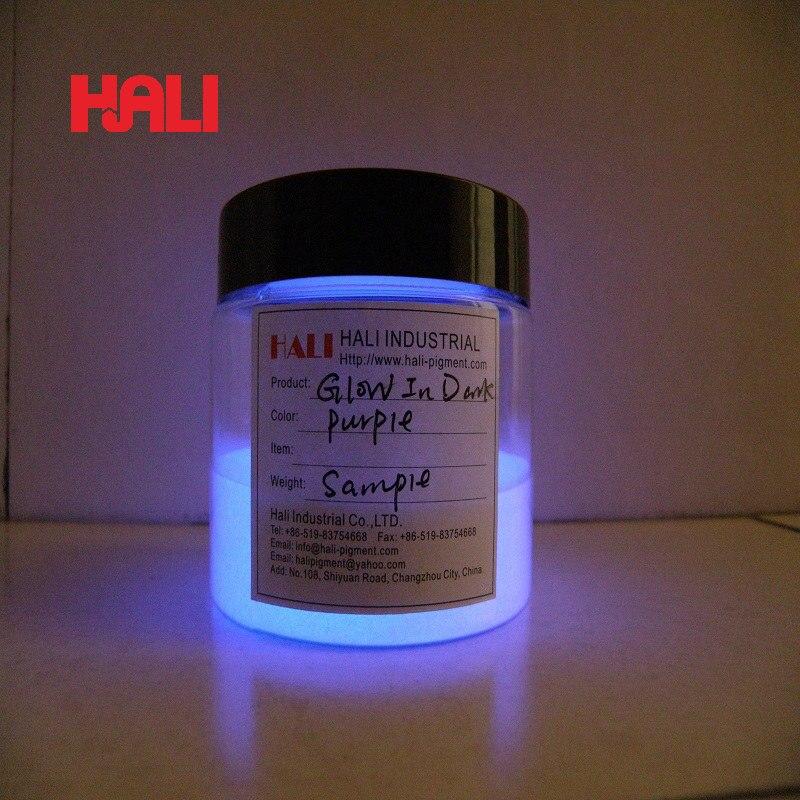 Brillo en polvo oscuro, polvo fluorescente, pigmento fotoluminiscente, Polvo de pigmento luminoso en polvo luminiscente, MOQ: 1 kg por color-in Brillantina de uñas from Belleza y salud    2