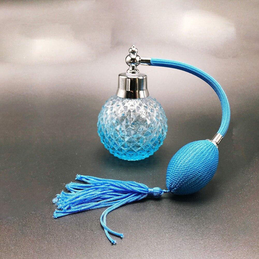 67c3aff50 100 ml Recarregáveis Atomizador Vazio Spray Frasco de Perfume De Cristal Do  Vintage Garrafa de Vidro