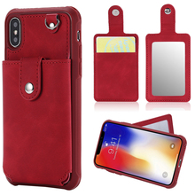 Haissky Wallet Phone Case For iPhone 6 7 6S 8 Plus Women Flip Leather Case Cover