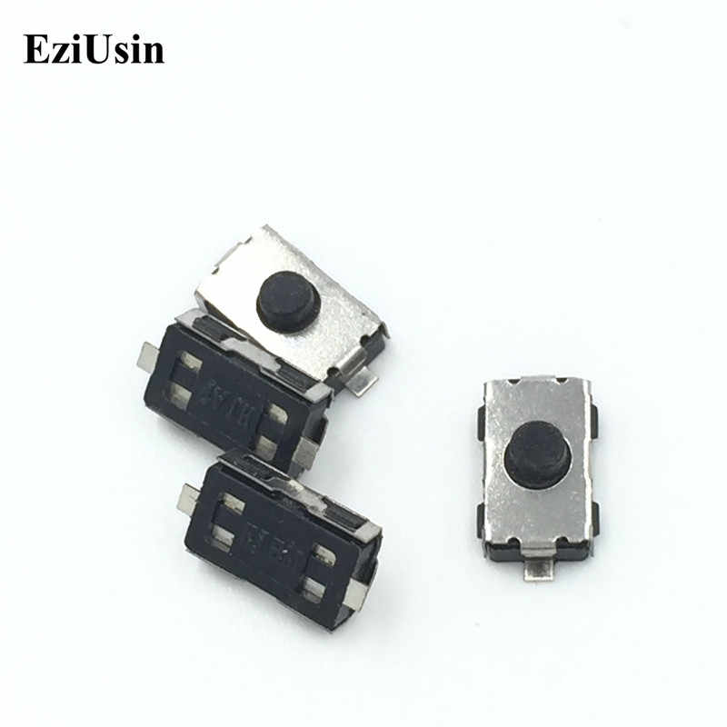 EziUsin 3*6*2.5 NC NO Micro Switch Normally Closed/Open SMD Touch Silica Gel Button Keys Interrupteur 4*6