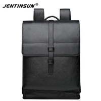 New Fashion Business Backpack Multifunctional Men Leather Laptop Backpack Large Capacity Casual Travel Bags School Bags