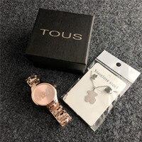 2019 TOUS pulsera Watch Women Quartz Casual reloj Watches Bracelet Watch Ladies Quartz Watch Leather Fashion Sport Wacth mujer