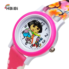 2019 Newest products Printed strap Women watch for kid girls boys clock children
