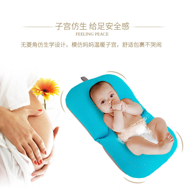 baby shower portable air cushion bed babies infant baby bath pad non slip bathtub mat newborn. Black Bedroom Furniture Sets. Home Design Ideas