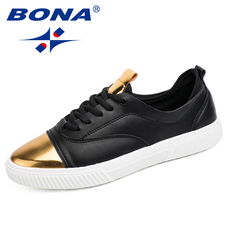 BONA New Popular Style Men Walking Shoes Lace Up Men Shoes Outdoor Jogging Sneakers Synthetic Men