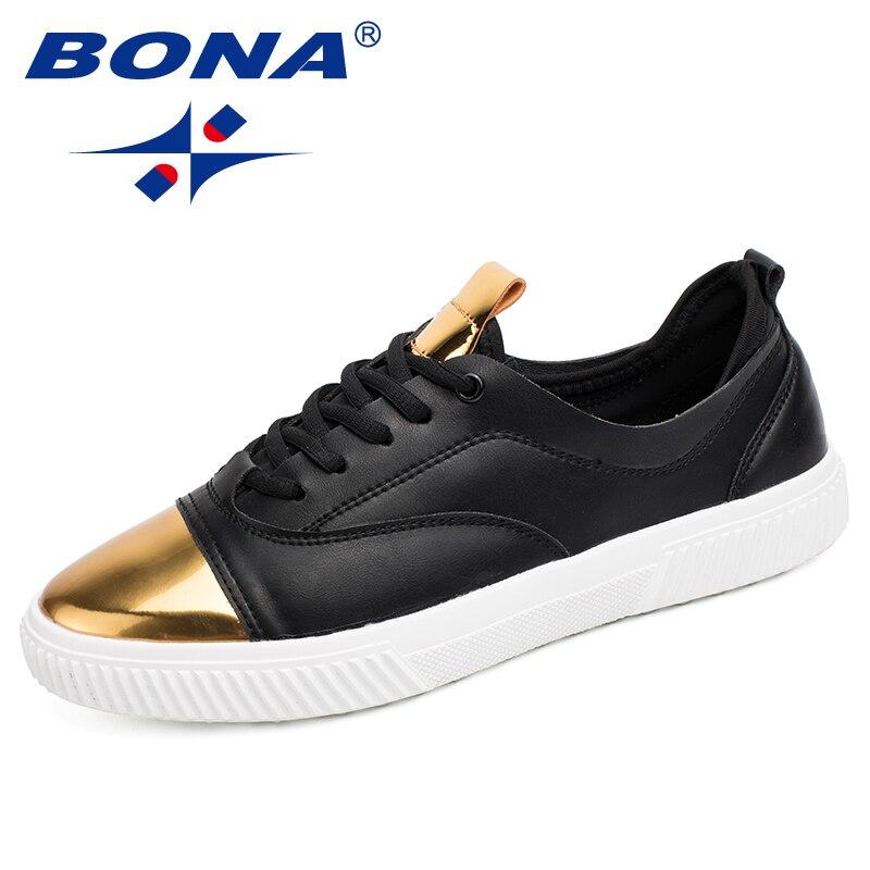 BONA nouveau Style populaire hommes chaussures de marche à lacets hommes chaussures en plein air Jogging baskets synthétique hommes chaussures de sport livraison gratuite