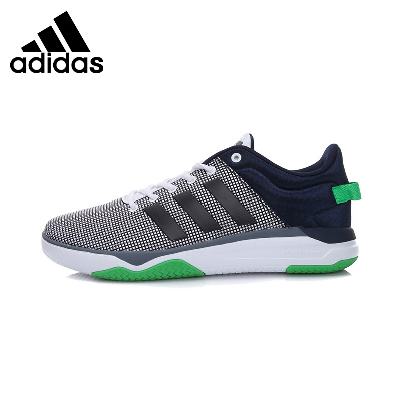 wholesale dealer 0116d 93376 Original New Arrival 2017 Adidas NEO Label Cloudfoam Swish Men's  Skateboarding Shoes Sneakers-in Skateboarding from Sports & Entertainment  on Aliexpress.com ...