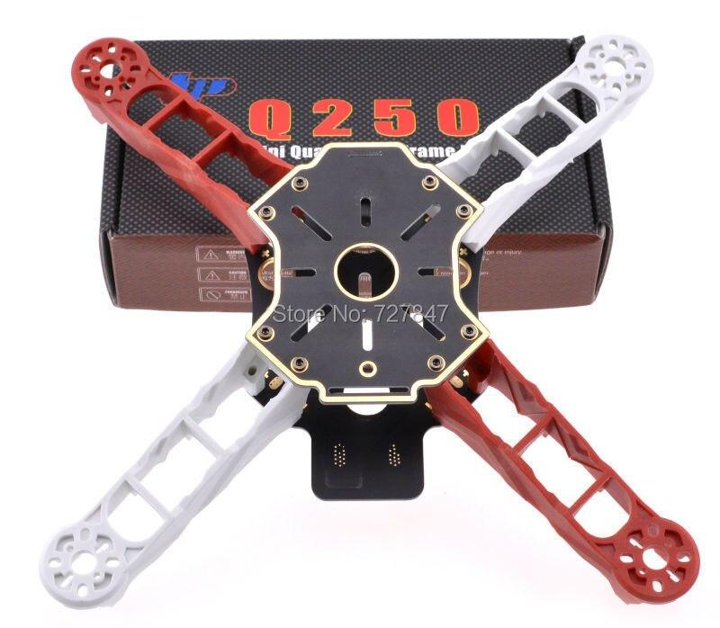 Q250 Mini Ultralight RC Drone 4 Axis Quadcopter Frame Kit FPV Unassembled Batter Than H250 QAV250 f330 quadcopter frame kit mini quad frame navigation led light rc fpv frame drone kit support kk mk mwc uav