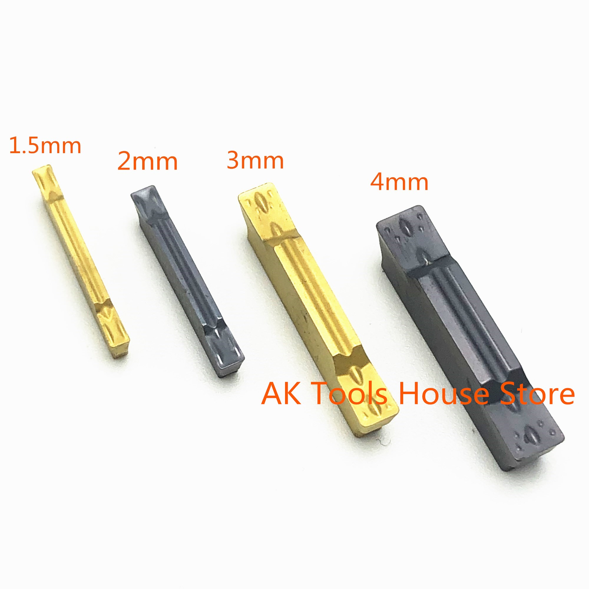 10PCS grooving tool MGMN150 MGMN200 MGMN300 MGMN400 NC3020 NC3030 PC9030 slotted and slotted carbide metal turning lathe tools