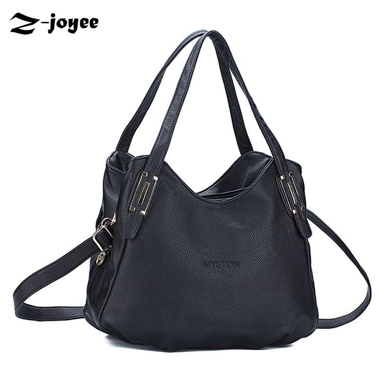 Women Genuine Leather Handbags Ladies Casual Simple Lichee Shoulder Bags Designe