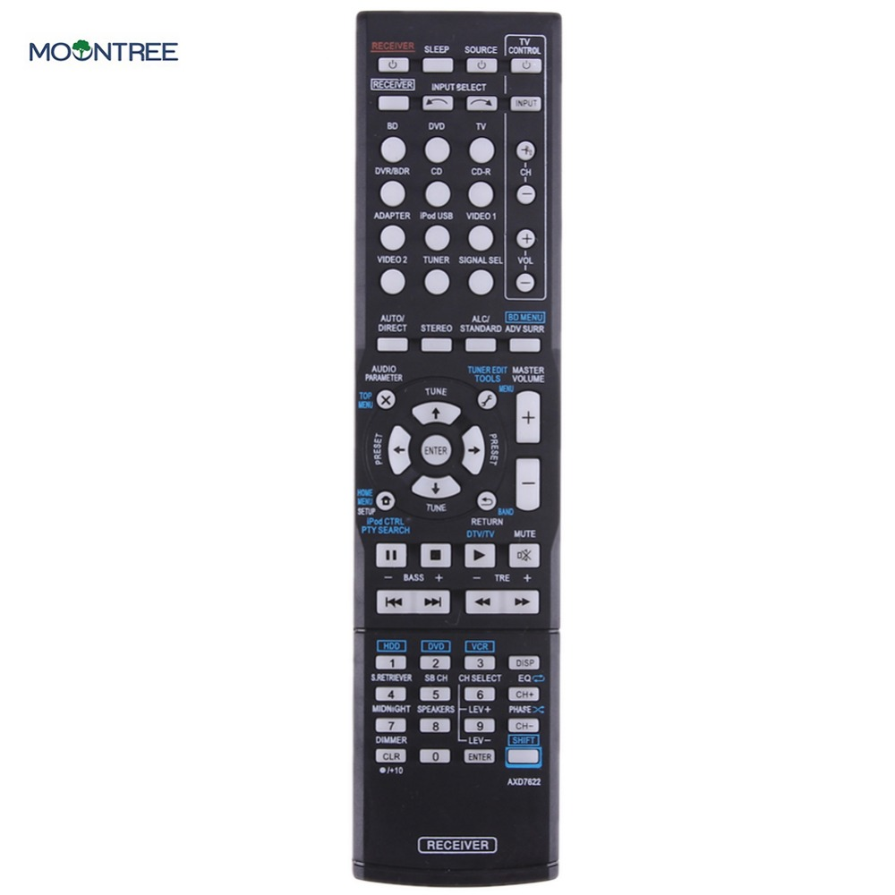Replacement Remote Control For Pioneer VSX-521 AXD7660 VSX-422-K AXD7662 AV Receiver 433mhz remote controller For Pioneer цены