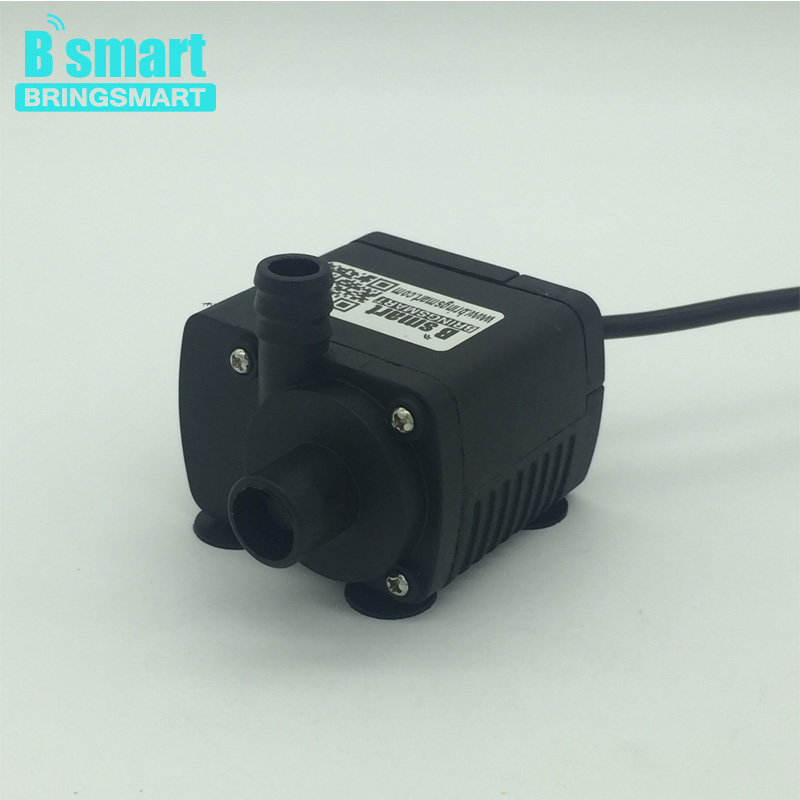 Bringsmart JT-280AT 12V DC Brushless Submersible Water Pump 24V Circulating Computer Cooling Pumps Free Shipping bringsmart jt 280at 12v dc brushless submersible water pump 24v circulating computer cooling pumps free shipping