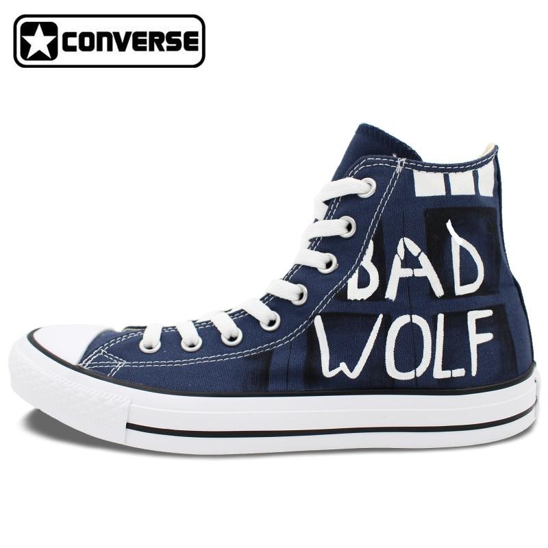 Converse Police Car Shoes