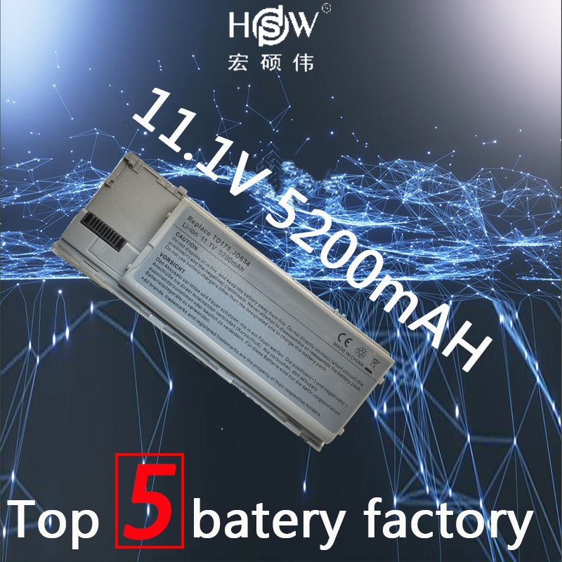 HSW 5200 mah Laptop Batterie für dell Latitude D620 Latitude D630 D630 ATG Latitude D630 UMA D630c Präzision M2300 TG226 UD088