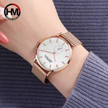 Full Rhinestone Women Watches Original Design Small Dial Elegant Quartz Watch For Luxury Rose Gold Steel Mesh Female Clock