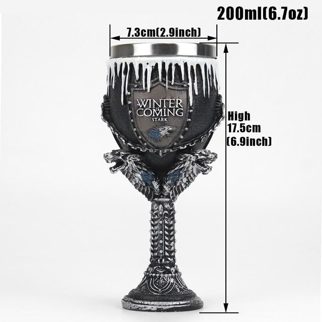 Game of Thrones Mug Goblet Beer Mug Coffee Cup Wine Glass