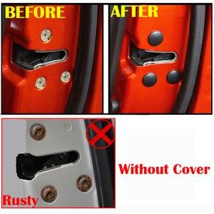 Image 5 - Car Door Lock Screw Protector Cover For LADA Granta Largus Kalina Niva Priora Vesta Xray Mazda 2 3 6 CX 5 CX 3 CX 9 MX 5 CX 8