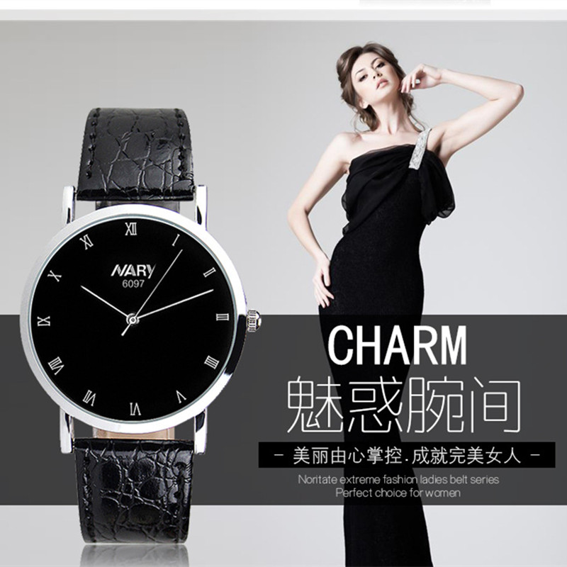 2017 Fashion Nary Selling Brand 30m Waterproof Japan Movement Watches High quality Leather Band Simple Case Dial For Men Women feifan brand watches fashion sport watches for women new arrival 2016 high quality quartz watches japan movement case fp135