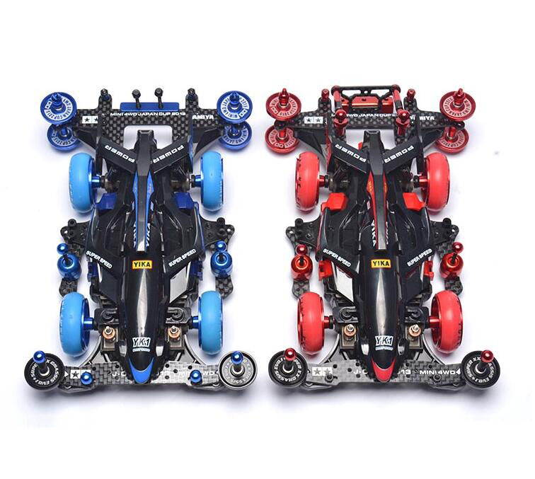 Yangkai Mini 4WD Car Model With Upgrade Spare Parts Set Aluminum Alloy Guide Rollers Wheels