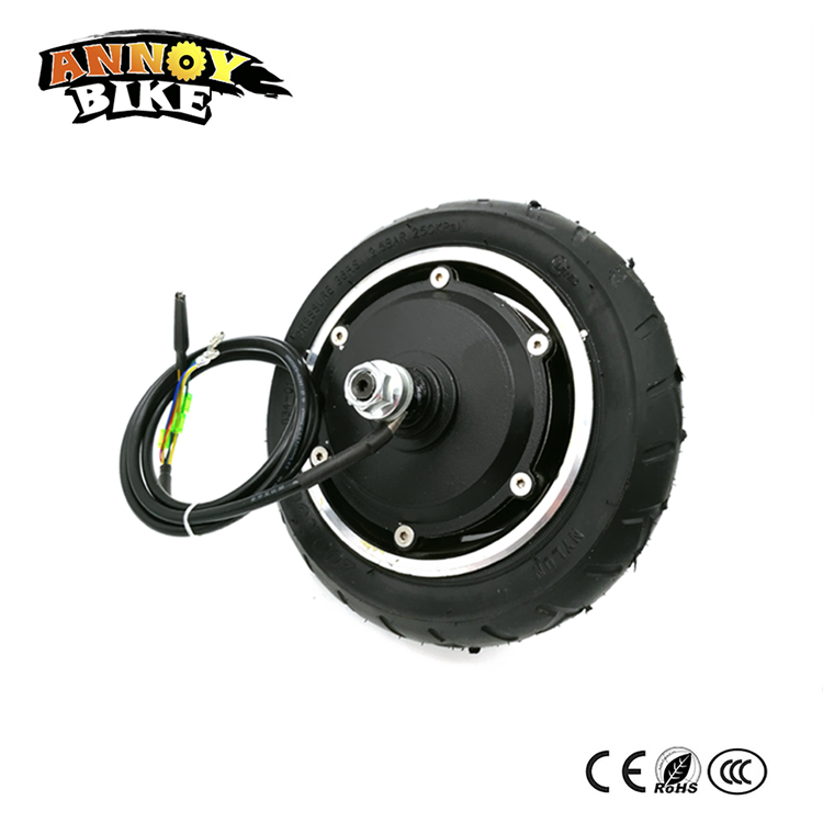 24V36V48v 8 BLDC Gearless Hub Motor 8 inch Wheel With Inflatable Tyre Drum Brake For Electric Folding Scooter Home Scooter DIY 40km h 4 wheel electric skateboard dual motor remote wireless bluetooth control scooter hoverboard longboard